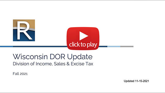 Tax Professionals Video Center thumbnail image, click here to go to the Tax Professionals videos